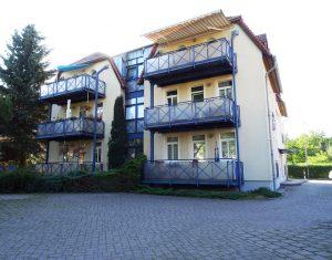 Mietwohnung Dresden Lockwitz die rückwertige Hofansicht