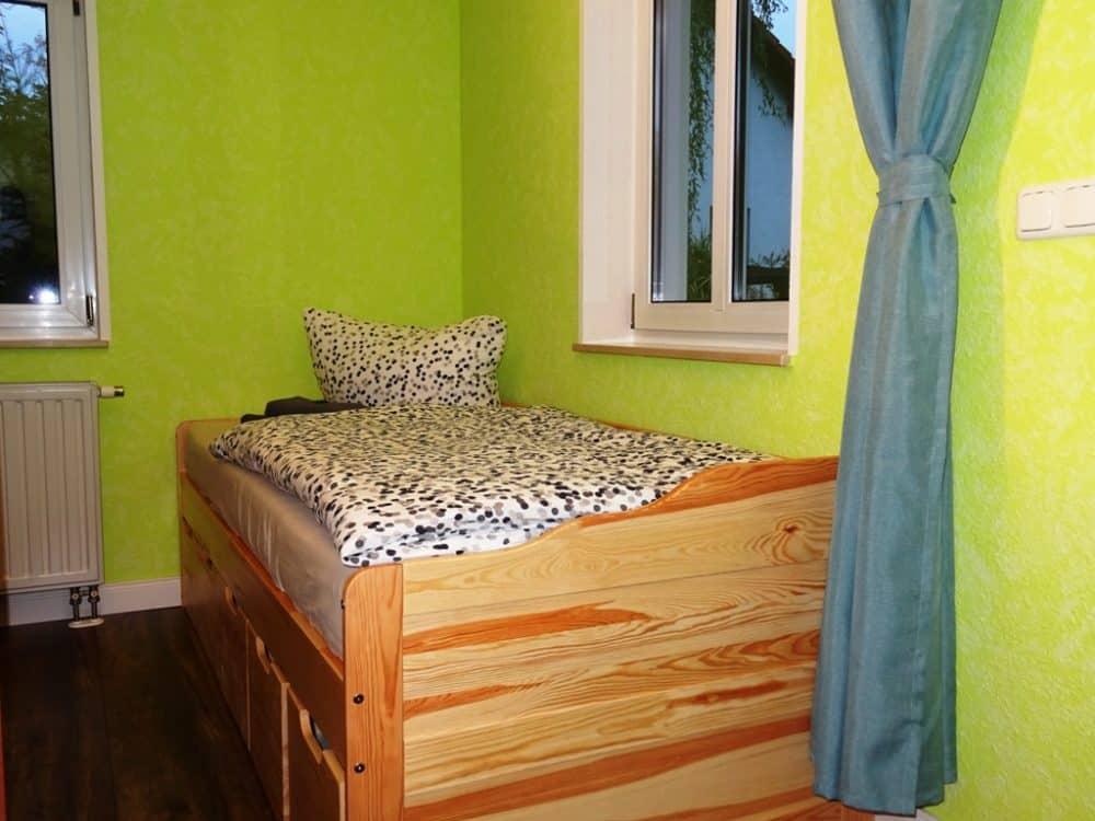 Ferienwohnung Dresden Lockwitz Alte Kelterei – Nr. 2 – Kinderzimmer mit Einzelbett