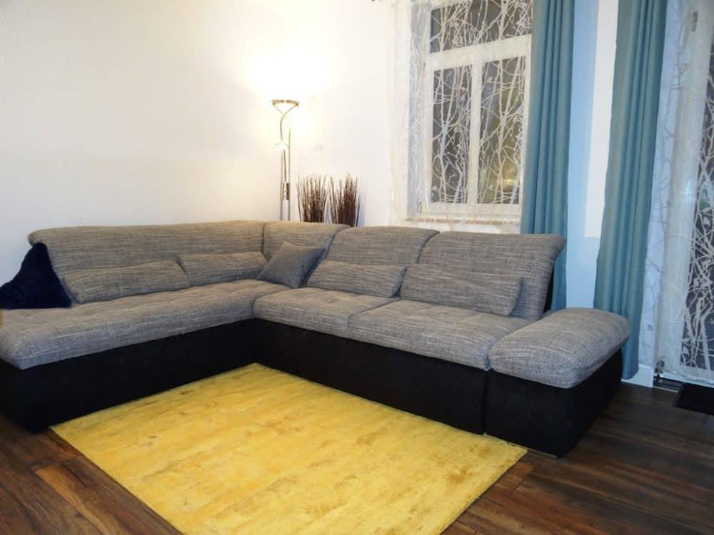 Ferienwohnung Dresden Lockwitz Alte Kelterei – Nr. 2 – Wohnzimmer mit Schlafsofa