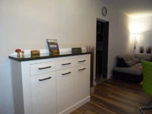 Wohnzimmer mit Sidebord